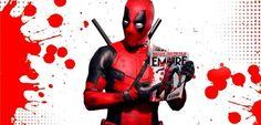 """O Deadpool invadiu a edição da Empire deste mês e, em um vídeo, apresentou todas as exclusividades que a revista terá sobre o filme. O anti-heróis como o vídeo questionando o espectador se """"Você está pesando em comprar a edição deste mês da Empire?"""" Ele Continua """"Deveria, pois seu Mercenário Tagarela Favorito sequestrou toda a …"""