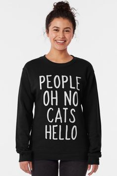 Are you a cat mom or maybe a cat dad? Do you know a cat lady? If you like cute kittens, funny kitties & cool felines, this funny cat shirt is the perfect cat lover gift for you. Get this great cat gift for yourself and for your cat lover friend & family right now. #catshirts #funnycatshirts #catlover #catlovergifts #giftsforcatlovers #catgifts #catmom #catdad #catlady #cat #kitten #kitties #feline