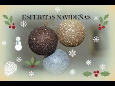 1c2b57c017a COMO HACER ESFERAS NAVIDEÑAS RECICLADAS - YouTube Como Hacer Esferas  Navideñas