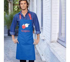 "Zástera s potlačou ""bonjour"" Blouse, Shirt Dress, T Shirt, Lingerie, Collection, Dresses, Kitchen, Products, Fashion"