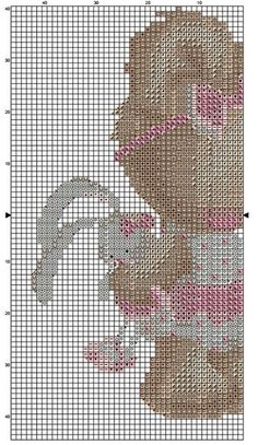 Baby Cross Stitch Patterns, Cross Stitch Baby, Cross Stitch Charts, Cross Stitch Designs, Tapestry Crochet, Needle And Thread, Cross Stitching, Needlepoint, Embroidery Designs
