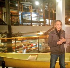 Canadian singer-songwriter Gordon Lightfoot donated canoes to the Canadian Canone Museum in Peterborough, ON. #wepaddleBC