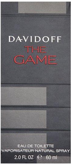 LOWEST EVER AMAZON PRICE Davidoff The Game Eau de Toilette 60ml NOW £18.95