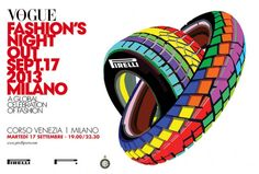 Striking and colourful poster for fashion night out sponsored by Car And Driver, Fashion Night, Vogue Fashion, Tshirt Colors, Magazine, Traditional, Cars, Poster, Autos