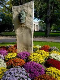 Van Gogh statue in Arles...where he was born