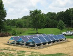 We use a Schneider/Xantrax inverter. On sunny days, we generate more power than my energy efficient home uses. We sell the rest of the  green renewable power back to Alabama Power. We also have batteries installed to provide power during blackouts.""