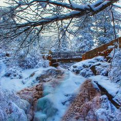 Helen Hunt Falls, Colorado Springs, Colorado
