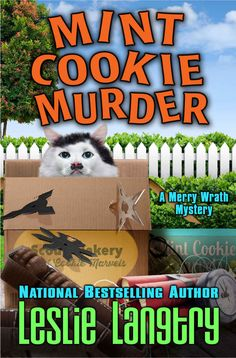 ☆★☆★ 4 Stars - Mint Cookie Murder: Book 2 (Merry Wrath Mysteries Series) by Leslie Langtry - Expected publication: 26th June 2015