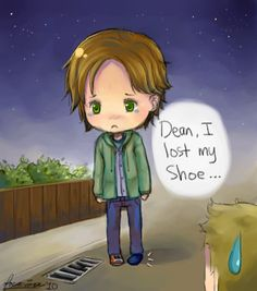 Sammy lost his shoe by ~focaccina on deviantART. Just....dawww!!!!! Another favorite episode!!