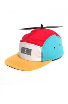 61c456be842 The Dirty Razkal Color Block Propeller Camper is the first ever 5 panel  strapback to come