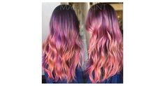 Sunset Hair Color Trend | POPSUGAR Beauty