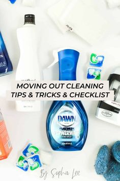 omg!! these moving out cleaning tips are too good. I am so happy I found this because I have to move out soon and I need to have everything super clean. thank you sophia! Moving House Tips, Moving Tips, Moving Out, Moving Hacks, Cleaning Checklist, Cleaning Tips, Move Out Cleaning, Clean Bedroom, Bathroom Cleaning Hacks