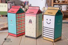 Lass deine Kinder sparen! Die 12 schönsten Sparbüchsen, die man selber oder zusammen basteln kann! - DIY Bastelideen