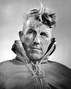 Sir Edmund Percival Hillary (1919–2008) was a New Zealand mountaineer, explorer and philanthropist. On 29 May 1953, Hillary and Nepalese Sherpa mountaineer Tenzing Norgay became the first climbers confirmed as having reached the summit of Mount Everest. They were part of the ninth British expedition to Everest, led by John Hunt. Hillary was named by Time as one of the 100 most influential people of the 20th century.