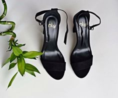 Block heels sandals #nellyshoes