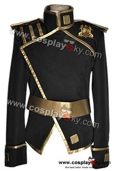 07 Ghost Empire Uniform Mikage Version Cosplay Costume-1