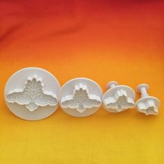 Scalloped Scroll Cutters Set of 4