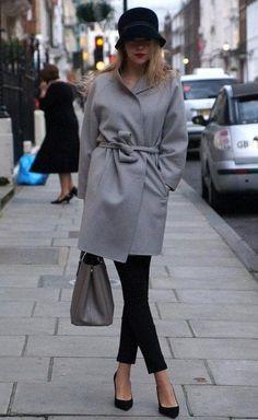 Con abrigos y con mucho glamour ¡así es mi invierno favorito!
