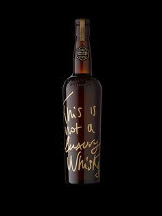 Stranger & Stranger - This is not a Luxury Whisky #Packaging #Design — World Packaging Design Society / 世界包裝設計社會 / Sociedad Mundial de Diseño de Empaques