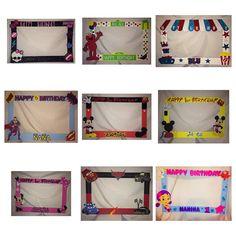 prop foto marco fiesta Mickey minnie mouse por titaspartycreations