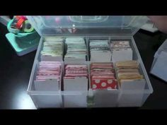 ▶ Organizing Project Life cards by color - YouTube