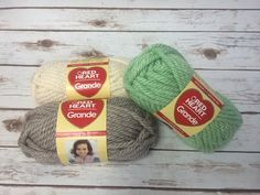 Red Heart Grande Yarn - Enter to win 3 skeins of Red Heart Grande Yarn. This yarn is perfect for beginners to work as its nice and thick.
