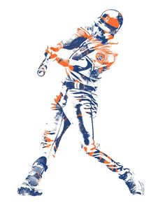 Jeff McNeil NEW YORK METS PIXEL ART 1 Art Print by Joe Hamilton. All prints are professionally printed, packaged, and shipped within 3 - 4 business days. New York Mets Baseball, Ny Mets, New York Teams, Baseball Painting, Lets Go Mets, Joe Hamilton, Thing 1, Baseball Stuff, Sports Art