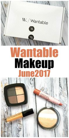 Wantable Makeup Collection June 2017 Review