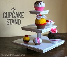 Ana White | Build a Cupcake or Dessert Stand | Free and Easy DIY Project and Furniture Plans