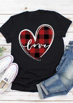 Valentine Love, Valentines Day Shirts, Womens Valentine Shirts, T Shirt Designs, Vinyl Shirts, Tee Shirts, Band Shirts, Tees, Japon Illustration
