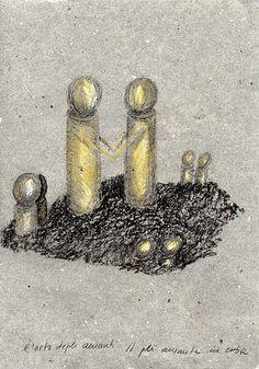 Il giardino dei tre- amanti in erba- disegno progetto, Fernanda Menendez.