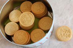pecsételhető keksz