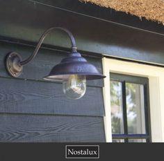 Leuke nostalgische buitenlamp voor in de tuin
