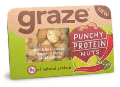 Graze - Good To Go on Packaging of the World - Creative Package Design Gallery