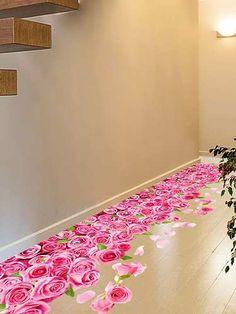 Prezzi e Sconti: #3d blooming rose interior removable wall  ad Euro 7.39 in #Home #Moda