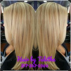 #highlight and #haircut by Tabitha at our #FossilCreek location. #SalonPurple #teampurple #purpleworld #KevinMurphy #blondshavemorefun #blondehair