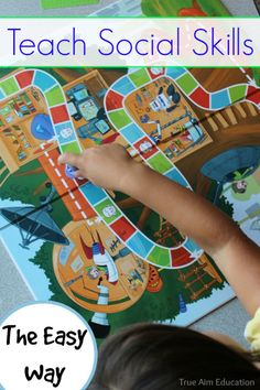 """The best game to teach manners and social skills - the kids are so excited about their """"manners game"""""""