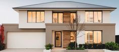 apg homes Sandalford Display Home Aveley Facade House, House Roof, Dream Home Design, Modern House Design, Storey Homes, Display Homes, House Goals, House Colors, Future House