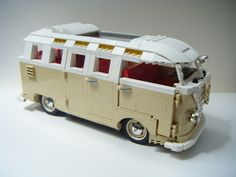 The only part that was hard to find was the ladder bricks in this colour, i found that this part is quite rare in tan.. They came via 'bricklink'..