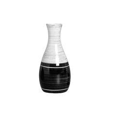 Vaso Garrafa Pequeno em Cerâmica. Este vaso dará aquele toque delicado que sua casa precisa.