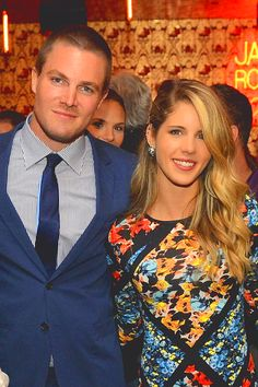 emily bett rickards and stephen amell - Google Search