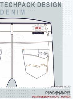 Tech Pack, Pants Pattern, Club Dresses, Denim Fashion, Iran, Mumbai, Denim Jeans, Branding, India