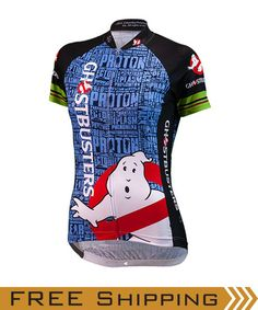 Our Women s Ghostbusters Cycling Jersey (front view) Also available in  Men s sizes Mtb Bike 3daeccc91