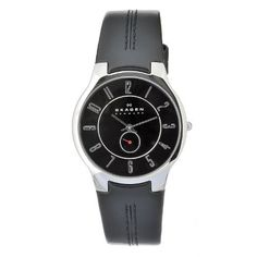 Skagen Men's OT433XLSLB Quartz Black Dial Stainless Steel Watch Skagen. $60.00. Casual watch. Water-resistant to 30 M (99 feet). Case diameter: 40mm. Durable mineral crystal protects watch from scratches,. Quartz movement