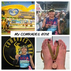 COMRADES 2012  -The Ultimate Human Race.   Arguably the world's greatest ultra marathon.