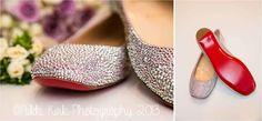 Wedding shoes...   Nikki Kirk Photography