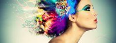 Somewhere Over The Rainbow… Hair Colours Beauty Quotes, Beauty Art, Beauty Skin, Beauty Women, Beauty Book, Beauty Style, Hair Beauty, Glamour, Ideas Collage