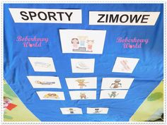 Boberkowy World : Sporty zimowe- konspekt zajęć dla przedszkolaków Sporty