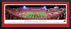 Ohio State Buckeyes - TBDBITL Script OHIO Stadium - Panoramic Picture