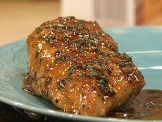 Sticky Orange Chicken with Herbs and Sweet Potatoes with Cider  | Rachael Ray Show